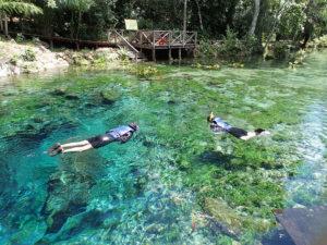 Flutuação Nascente Azul